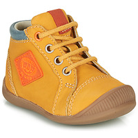 Chaussures Garçon Baskets montantes GBB TARAVI Jaune