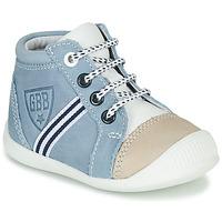 Chaussures Garçon Baskets montantes GBB GABRI Bleu