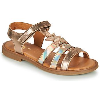 Chaussures Fille Sandales et Nu-pieds GBB OLGA Rose gold