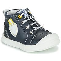 Chaussures Garçon Baskets montantes GBB GREGOR Marine