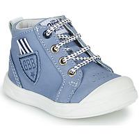 Chaussures Garçon Baskets montantes GBB GREGOR Bleu