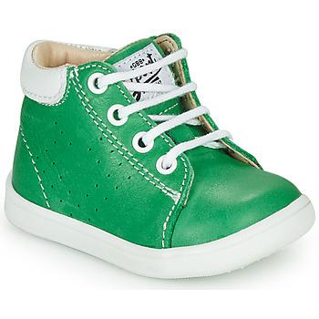 Chaussures Garçon Baskets montantes GBB FOLLIO Vert