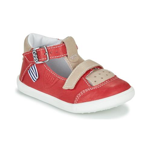 Chaussures Garçon Sandales et Nu-pieds GBB BERETO Rouge