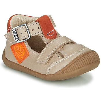 Chaussures Garçon Sandales et Nu-pieds GBB BOLINA Beige / Orange