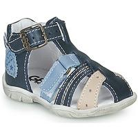 Chaussures Garçon Sandales et Nu-pieds GBB BYZANTE Bleu