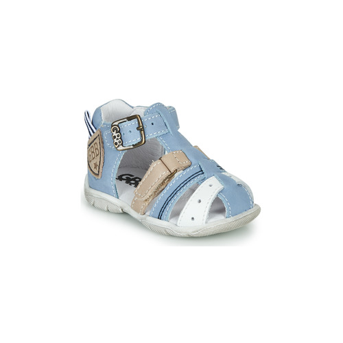 Chaussures Garçon Sandales et Nu-pieds GBB BYZANTE Bleu / Gris