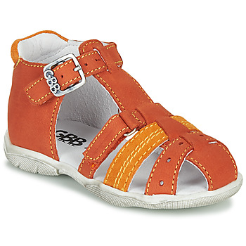 Chaussures Garçon Sandales et Nu-pieds GBB ARIGO Orange