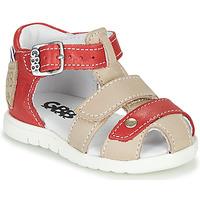 Chaussures Garçon Sandales et Nu-pieds GBB BASILA Rouge / Beige