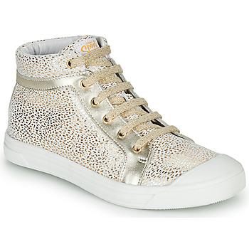 Chaussures Fille Baskets montantes GBB NAVETTE Doré