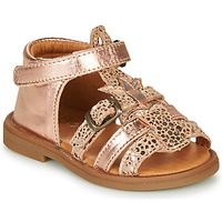 Chaussures Fille Sandales et Nu-pieds GBB CARETTE Rose gold