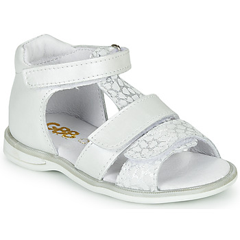 Chaussures Fille Sandales et Nu-pieds GBB NAVIZA Blanc
