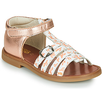 Chaussures Fille Sandales et Nu-pieds GBB PHILIPPINE Rose gold