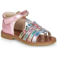 Chaussures Fille Sandales et Nu-pieds GBB PHILIPPINE Rose