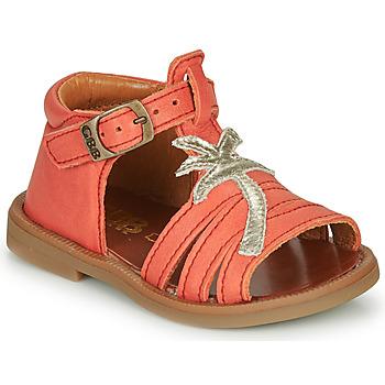 Chaussures Fille Sandales et Nu-pieds GBB ARAGA Corail