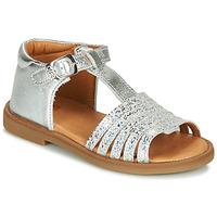 Chaussures Fille Sandales et Nu-pieds GBB ATECA Argenté