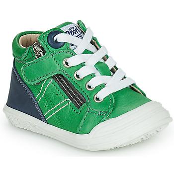 Chaussures Garçon Baskets montantes GBB ANATOLE Vert
