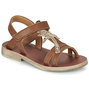 Chaussures Fille Sandales et Nu-pieds GBB SAPELA Marron