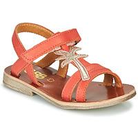 Chaussures Fille Sandales et Nu-pieds GBB SAPELA Corail