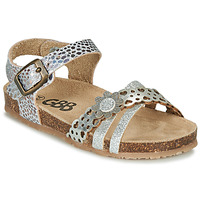 Chaussures Fille Sandales et Nu-pieds GBB PANORA Argenté