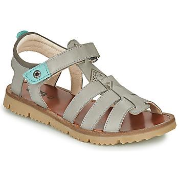 Chaussures Garçon Sandales et Nu-pieds GBB PATHE Gris / Bleu