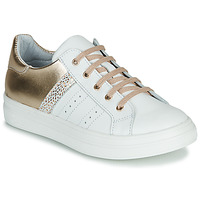 Chaussures Fille Baskets basses GBB DANINA Blanc