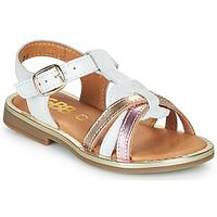 Chaussures Fille Sandales et Nu-pieds GBB EGEA Blanc