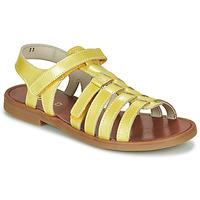 Chaussures Fille Sandales et Nu-pieds GBB KATAGAMI Jaune