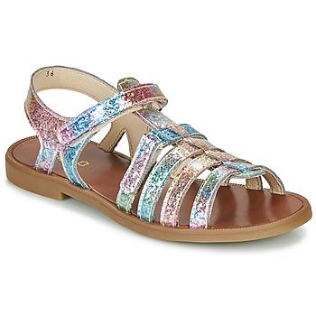 Chaussures Fille Sandales et Nu-pieds GBB KATAGAMI Rose / Multicolore