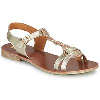 Chaussures Fille Sandales et Nu-pieds GBB EUGENA Doré