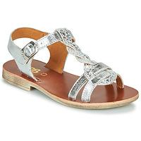 Chaussures Fille Sandales et Nu-pieds GBB EUGENA Argenté