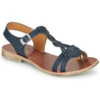 Chaussures Fille Sandales et Nu-pieds GBB EUGENA Bleu