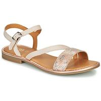 Chaussures Fille Sandales et Nu-pieds GBB FANA Beige rosé