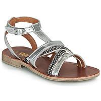 Chaussures Fille Sandales et Nu-pieds GBB JULIA Argenté