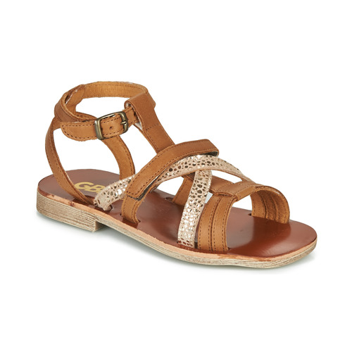 Chaussures Fille Sandales et Nu-pieds GBB JULIA Marron