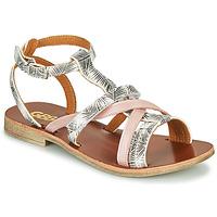 Chaussures Fille Sandales et Nu-pieds GBB JULIA Rose