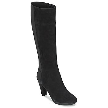 Chaussures Femme Bottes ville Geox INSPIRAT ST C Noir