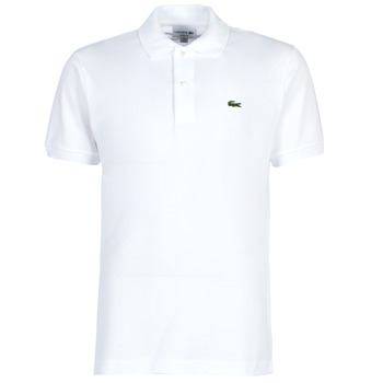 Vêtements Homme Polos manches courtes Lacoste POLO L12 12 CLASSIQUE Blanc