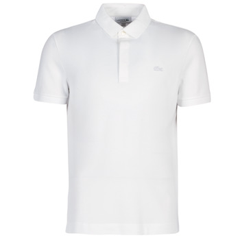 Vêtements Homme Polos manches courtes Lacoste PARIS POLO REGULAR Blanc