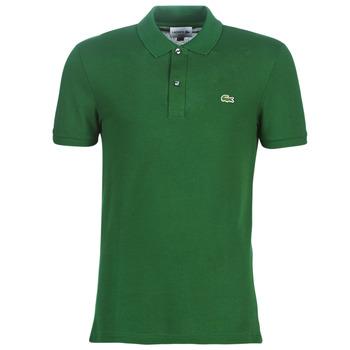Vêtements Homme Polos manches courtes Lacoste PH4012 SLIM Vert