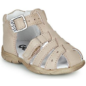 Chaussures Garçon Sandales et Nu-pieds GBB ARIGO Blanc cassé