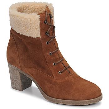 Chaussures Femme Bottines André BOHEME Camel