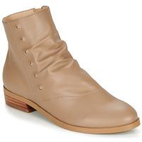 Chaussures Femme Boots André ELIPSE Camel