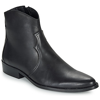 Chaussures Homme Boots André WESTERN Noir