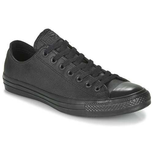 Chaussures Baskets basses Converse CHUCK TAYLOR ALL STAR CUIR  OX Noir