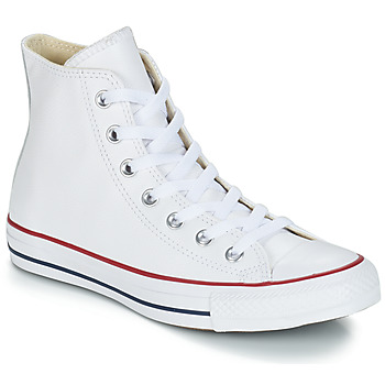Chaussures Baskets montantes Converse Chuck Taylor All Star CORE LEATHER HI Blanc