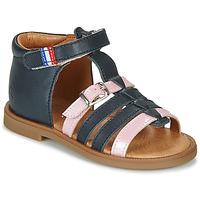 Chaussures Fille Sandales et Nu-pieds GBB GUINGUETTE Bleu