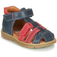 Chaussures Garçon Sandales et Nu-pieds GBB MACARON Marine / Rouge