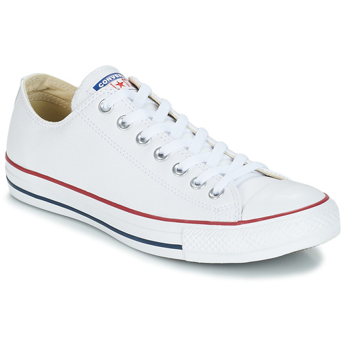 Chaussures Baskets basses Converse Chuck Taylor All Star CORE LEATHER OX Blanc