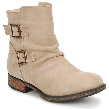 Chaussures Femme Boots Casual Attitude RIJONES Beige