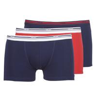 Sous-vêtements Homme Boxers DIM DAILY COLORS BOXER x3 Bleu / Rouge
